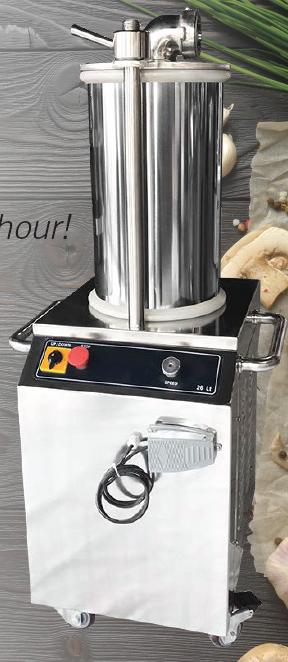 hsf0260--hydraulic-sausage-filler--26lt