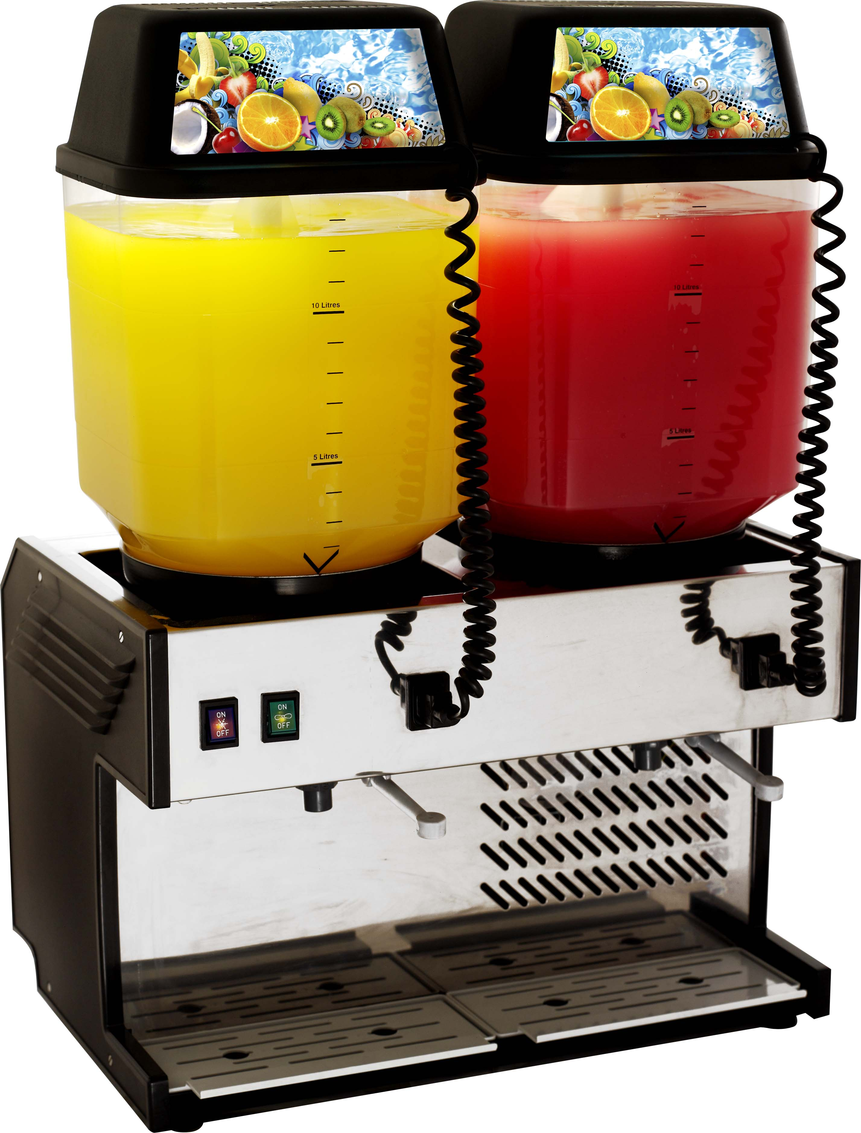 jda2002--summit-refrigerated-juice-dispencer--2-bowl