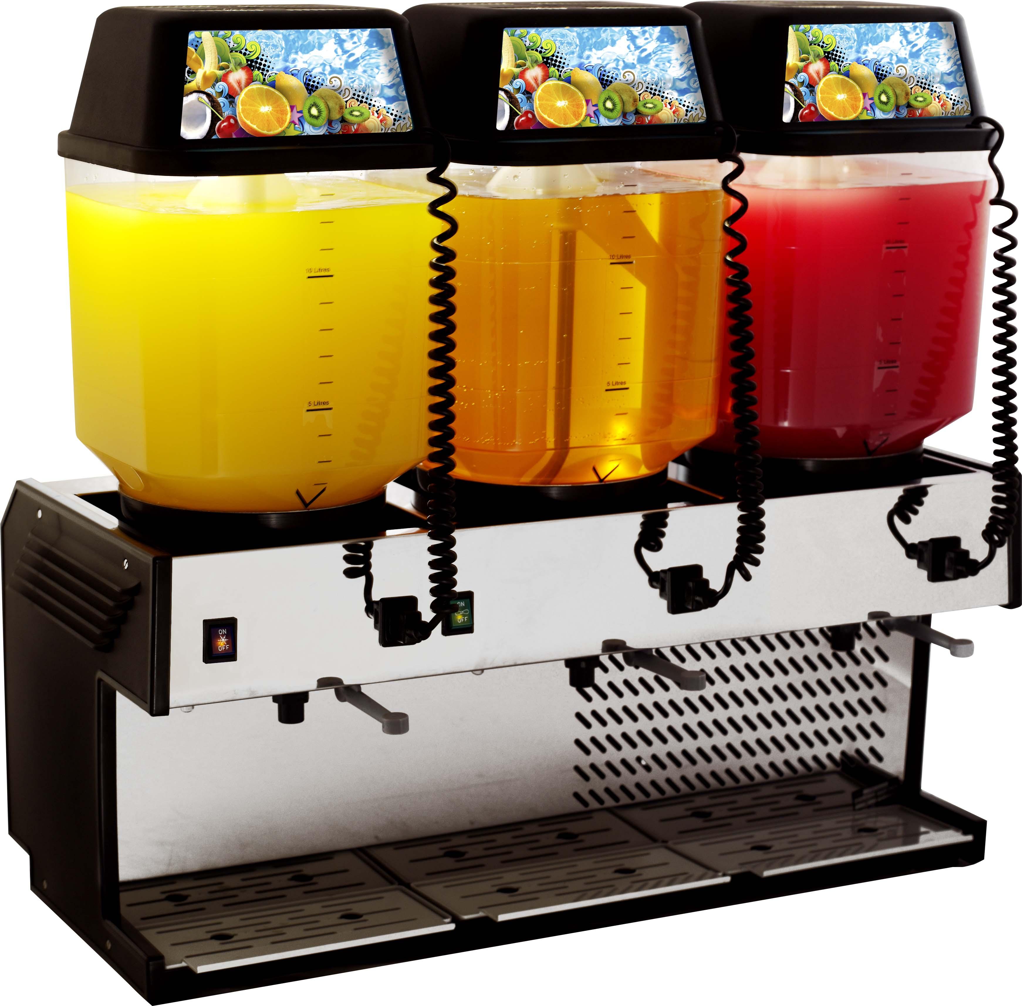 jda2003--summit-refrigerated-juice-dispencer--3-bowl