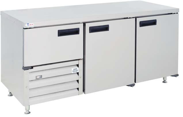 qub6sc-&ndash-2&frac12-door-ststeel-underbar-fridge-1780mm